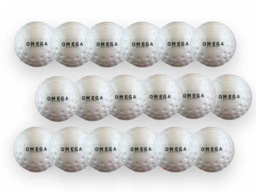 Omega hockey Dimple White Ball