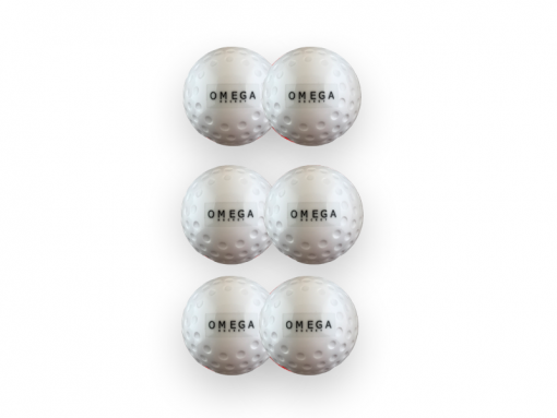 Omega Hockey White Dimple Hockey Ball