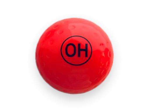 OH orange dimple ball