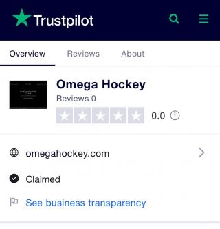 Have you recently purchased something from Omega Hockey or just loving our brand? Our Trust Pilot review page is now up and running! Use the link below ⭐️⭐️⭐️⭐️⭐️ . . https://www.trustpilot.com/review/omegahockey.com . . #oh #teamoh #review #5stars #standout #begameready #conquerthegame #becometheomega