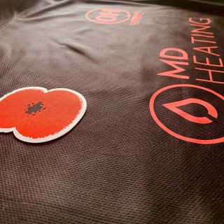 Our Charity match shirts are here!!!! And what beauty's they are! Massive thank you to @poppies4kits and @x.apparel1 for supplying the poppies,shirts and printing. Sunday is going to be an epic day! . . #oh #teamoh #spartans #forces #charity #game @mdheating @hockey_4_heroes @royalbritishlegion #standout #begameready #conquerthegame #becometheomega